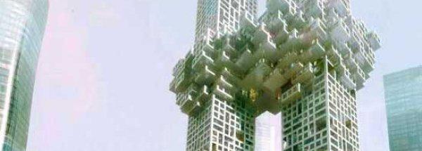 Rascacielos similares a los atentados de las Torres Gemelas