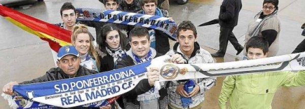 Ponferrada vibra con el Real Madrid
