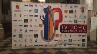 Vigilia con motivo del IV JOHC realizado en Palencia en el trascoro de la catedral palentina.