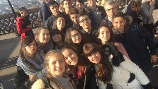 Fotos del viaje de nuestros alumnos a la ciudad de Estrasburgo y al Europarlamento