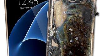 Samsung S7, antes y después de la explosión