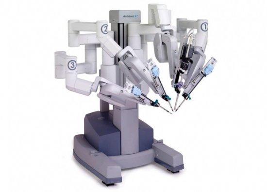 Robots que operan.