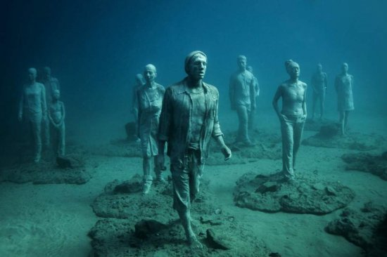 Sumergidos en la historia bajo las aguas de Lanzarote.