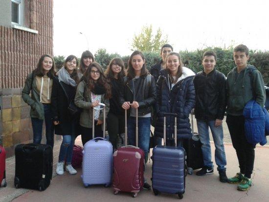 Nuestros alumnos de 4ºESO viajan a Estrasburgo
