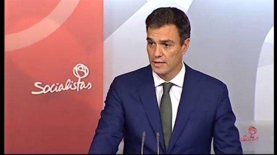 Pedro Sánchez dimite como diputado