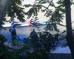Operación policial en el Pisuerga