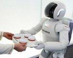 Uno de los robots que trabajan en una empresa.