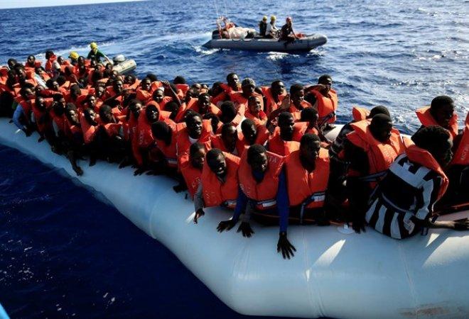 Muchos de los inmigrantes en peligro y asustados por las recientes y múltiples muertes