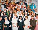 Los niños y adolescentes celebran Holywins, en España