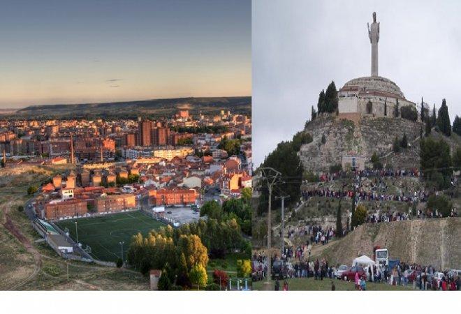 Vistas de Palencia desde el mirador