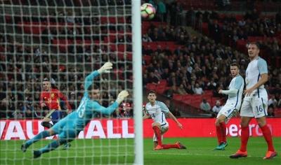 Amistoso España e Inglaterra y clasificación para mundial en el Argentina - Colombia