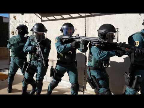 La Guardia Civil, inmóvil