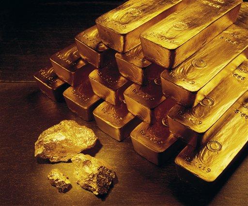 100 kilos de oro