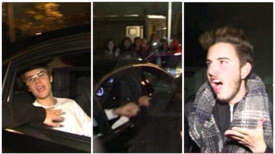 Justin  y su discordia con los fans
