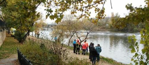 Se busca a un hombre en el río Duero.