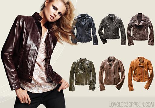 La chaqueta de cuero como básico del otoño