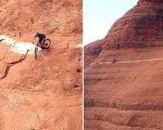 Los ciclistas superando la dura prueba