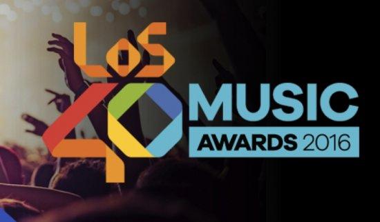 Los 40 Music Awards 2016