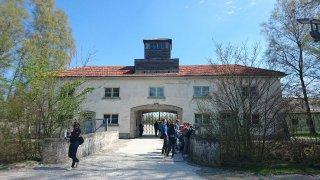 Foto tomada por mí, cuando estuve en el Campo de Concentración de Dachau