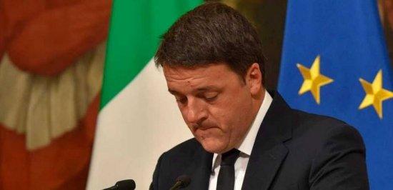 Ha dimitido el primer ministro italiano