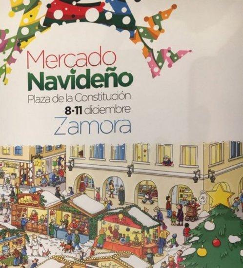 ¡EL MERCADO NAVIDEÑO YA SE PUEDE VISITAR EN ZAMORA!