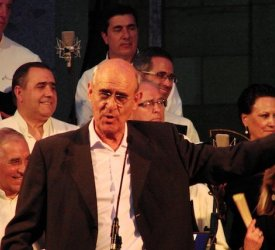 Homenaje al maestro Miguel Manzano.