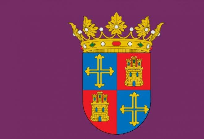 Bandera de Palencia (Castilla y León)