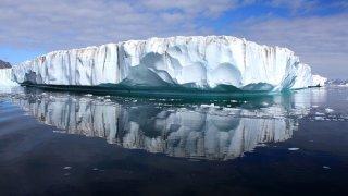 Foto de un iceberg