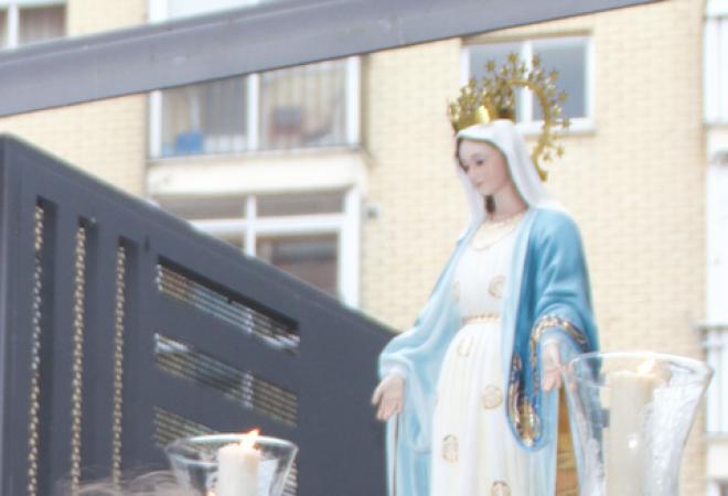 Paso de la Virgen Milagrosa