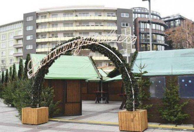 mercado navideño donde sucedió el atentado.