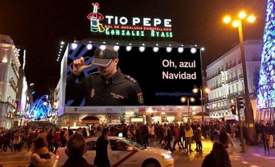 LA POLICÍA IRONIZA CON UN NUEVO CARTEL CONTRA EL NARCOTRÁFICO