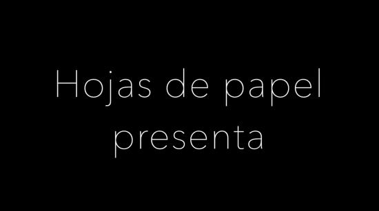 Making of - Hojas de Papel