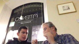 Entrevista a Juan Ramón Lagunilla en el Ateneo Librería&Café (Palencia)
