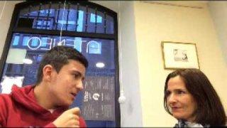 Hoy entrevistamos a la diputada palentina en el Ateneo Libros&Cafe