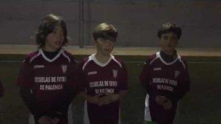 Los niños benjamines de una escuela palentina esta seleccionada para la Iscar Cup