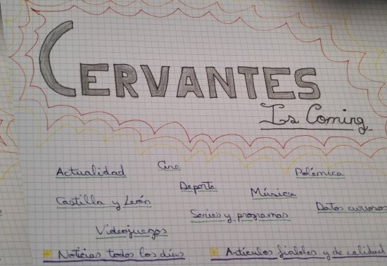 PROYECTO CERVANTES IS COMING