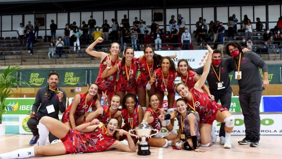 THE AVARCA MENORCA WIN THE FINAL OF THE SUPER CUP OF VOLEYBALL